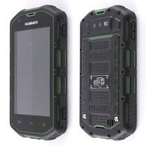 Hummer Verde H5 A Prueba De Agua Y Golpes Smartphone Gsm