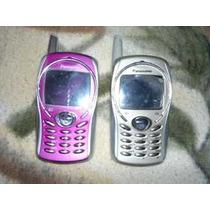 Babyfon Panasonic Gd51, Rosa Con Gris Y Oro Con Gris Op4