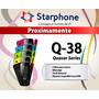 Starphone Q-38. Color Amarillo, Azul, Negro, Rosa, Verde Cam