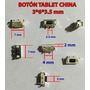 Boton De Encendido Tablet China 3x6x3.5 25 Pz $10.4 Pieza