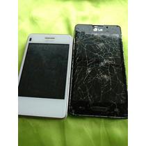 Lote De 2 Telefonos Lg Para Partes