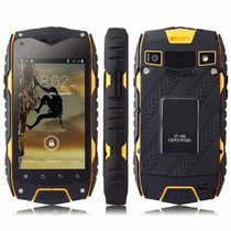 Smartphone Android Z6 Contra Agua Contra Golpes Polvo Shock