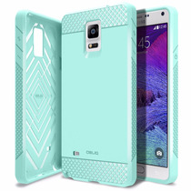 Funda Para Celular Obliq Galaxy Note [flex Pro] [mint] Slim