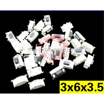 10 Pzas Boton Volumen O Encendido Tablet China 3x6x3.5mm