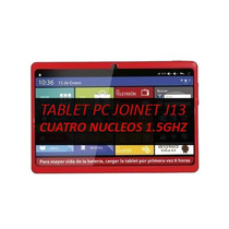 Tablet Pc Joinet J13 Quadcore 1.5ghz 1gb Ram Android Kitkat