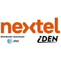 100 Sim Nextel At&t Iden Prepago Lada 55 México Envío Gratis