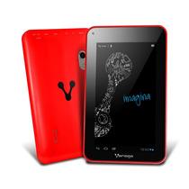 Tablet Vorago Pad-101 7 Android4.2 Ram1gb 8gb Dualcam Rojo