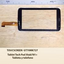 Touchscreen Gt70mk5751 Tableta Techpad