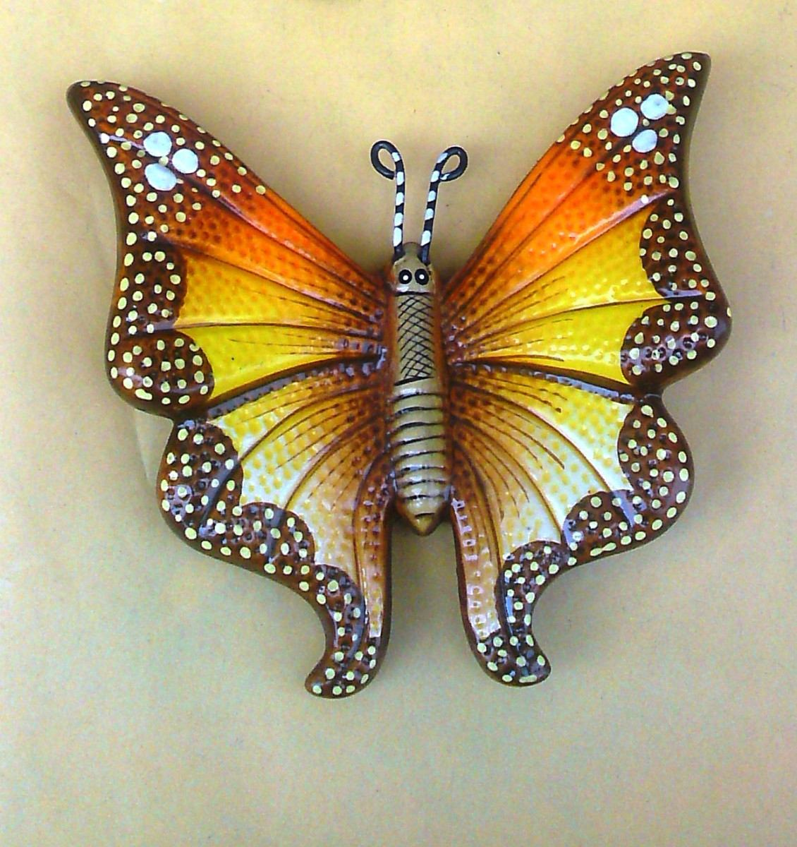 Como hacer una mariposa monarca de fomi imagui - Mariposas en la pared ...