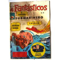 Historieta, Los 4 Fantasticos N°49, Editorial La Prensa Css