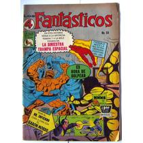 Historieta, Los 4 Fantasticos N°64, Editorial La Prensa Css