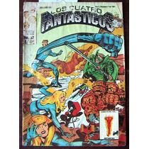 Historieta, Los Cuatro Fantasticos N°87 Novedades Editores