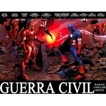 Marvel Comics - Guerra Civil (civil War) - 94 Tomos