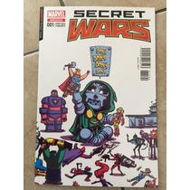 Secret Wars #1 En Español Portada Variante Young Televisatel