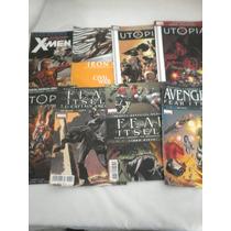 Lote De 8 Comics Marvel, Utopia, Fear Itself Xmen