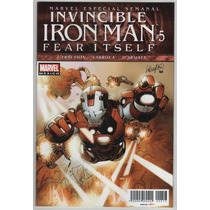 Invencible Iron Man # 5 Fear Itself - Editorial Televisa