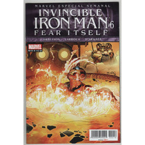 Invencible Iron Man # 6 Fear Itself - Editorial Televisa