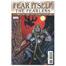 Fear Itself The Fearless # 2 - Editorial Televisa