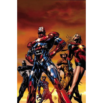 Libro Comic Marvel Dark Avengers Nuevo!