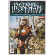 Invencible Iron Man # 4 Fear Itself - Editorial Televisa