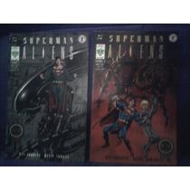 Dc Comics Superman Vs Aliens Completo 2 Números Vid Batman