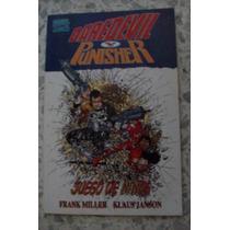 Daredevil Punisher Juego De Niños Tpb Marvel Mexico Comic