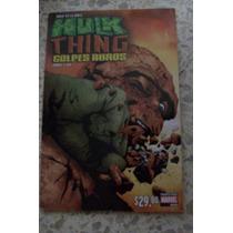 Hulk Vs. Thing Tpb Marvel Mexico Comic
