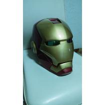 Casco De Iron Man Hecho De Fibra De Vidrio Marvel Ironman