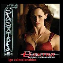 Dije Elektra Marvel Jennifer Garner Igo Coleccionables!!!