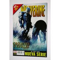Wolverine Tomo No. 17 Orígenes Y Finales. Editorial Televisa