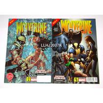 Wolverine Enemigo Público Lote De 2 Tomos Editorial Televisa