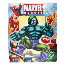 Combina Y Crea Marvel Villanos Libro Pasta Dura