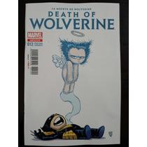 La Muerte De Wolverine Parte 1 Portada Variante En Español