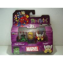 Marvel Minimates 2 Pack The Hulk Y Thor