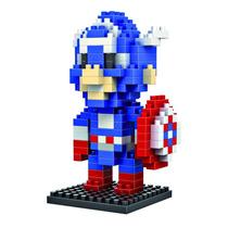 Marvel Comics - Capitan America Lego Mini Blocks