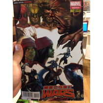 Secret Wars #2 Portada Variante Exclusiva En Español.