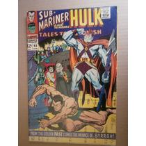 Submarinero Hulk Tales To Astonish #90 Marvel Orignal Ingles