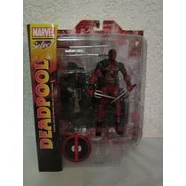 Figura De Deadpool Marvel Select Es 100% Nuevo