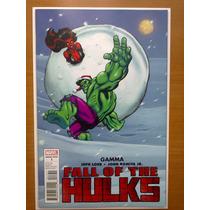 Fall Of The Hulks: Gamma Portada Variante