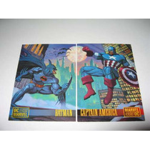 Marvel Vs Dc Card Set Completo Hm4