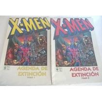 Kcg X-men Agenda De Extincion Completa Tomos 1 Y 2
