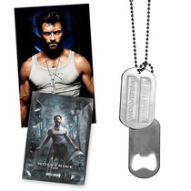 Placas Dog Tag Collar The Wolverine 2013 Movie X-men Days