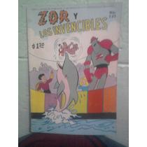Marvel Comic Vintage Zor Y Los Invencibles Grande Editormex
