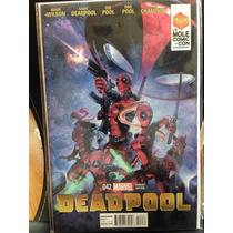 Deadpool #42 Portada Variante De La Mole En Ingles