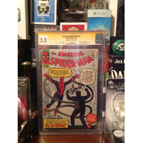 Amazing Spiderman 3 1965 Cgc Signed By Stan Lee!!!