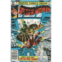 Lote 7 Comics Spider Woman 40-47 De 1981 Hombre Araña Batman