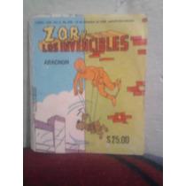 Marvel Comic Vintage Zor Y Los Invencibles Aracnon Spiderman