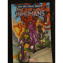 Uncanny Inhumans Fcbd 2015 Marvel Comics