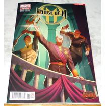 House Of M #2 Secret Wars Portada Variante Marvel Mexico