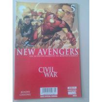 Comics De Coleccion Marvel Civil War New Avengers 5